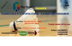 KARNATAKA STATE JUNIOR OPEN BADMINTON TOURNAMENT - SEASON 01