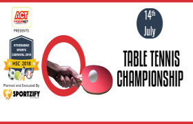 HSC Table Tennis Championship