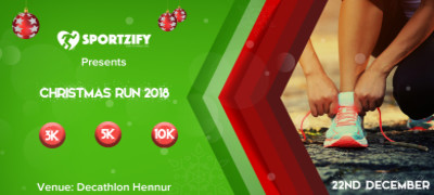Christmas Run 2018 (Hennur)