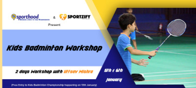 Kids Badminton Workshop with Uttsav Mishra