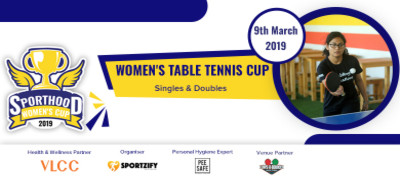 Sporthood Women's Table Tennis Cup