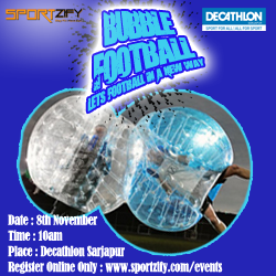 Bubble Football Tournament (6 a side)