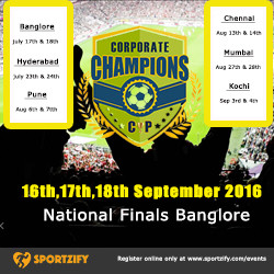 Corporate Champions Cup 2016 - Football