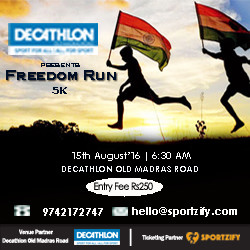 Decathlon OMR  Freedom Run