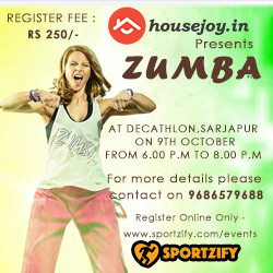 Zumba Event by Housejoy.in