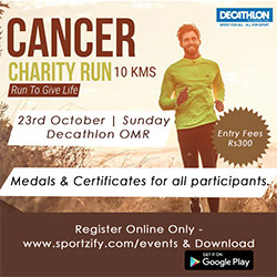 Cancer Charity Run 10K