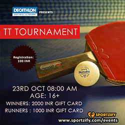 Adults Table Tennis Tournament