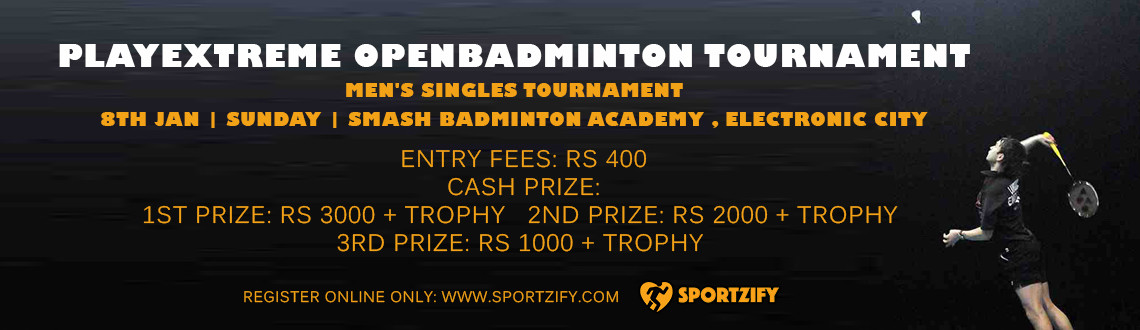 PlayExtreme Open Badminton Tournament