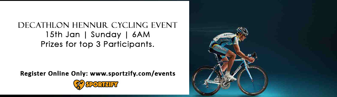Decathlon Hennur Cycling Event