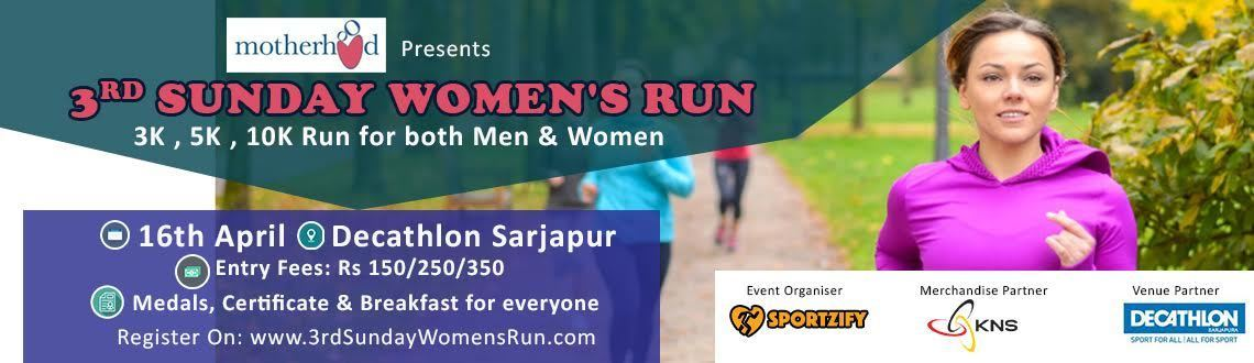 3rd Sunday Women's Run April