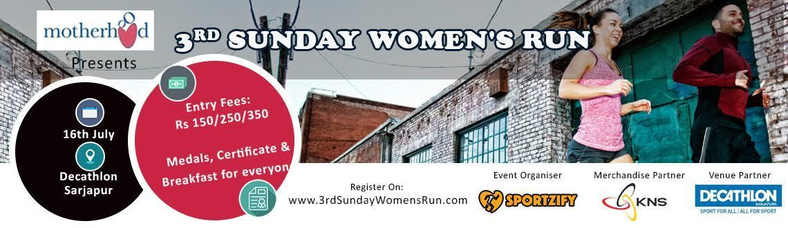 3rd Sunday Women's Run July