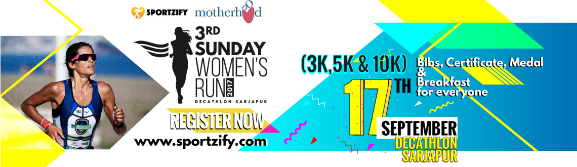 3rd Sunday Women's Run Sept