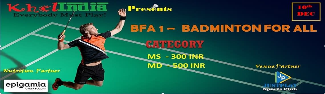 Badminton For All - 1