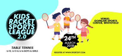 Kids Table Tennis Sports League 2.0