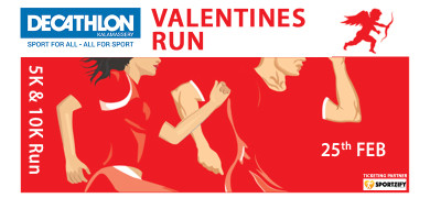 Valentines Run - Decathlon Kalamassery