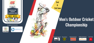 Men's Outdoor Cricket Championship - BSC2018