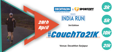 Decathlon India Run  2019 - SARJAPURA